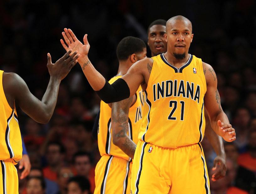 David West, koszykarz Indiana Pacers /AFP