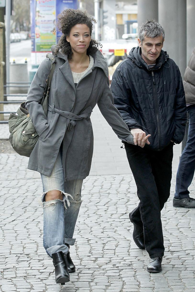 Davina Reeves z mężem /Krzemiński Jordan /AKPA
