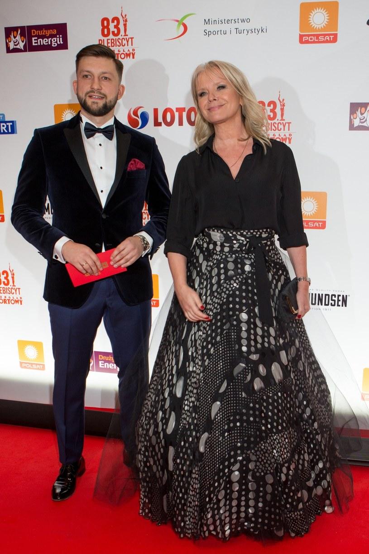Dawid Błaszczykowski i Małgorzata Domagalik /Tomasz Jastrzębowski /Reporter
