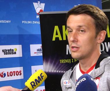Dawid Celt o zgrupowaniu reprezentacji Polski kobiet w Fed Cup w Warszawie: Idea jest taka, żeby spotkać się i potrenować.