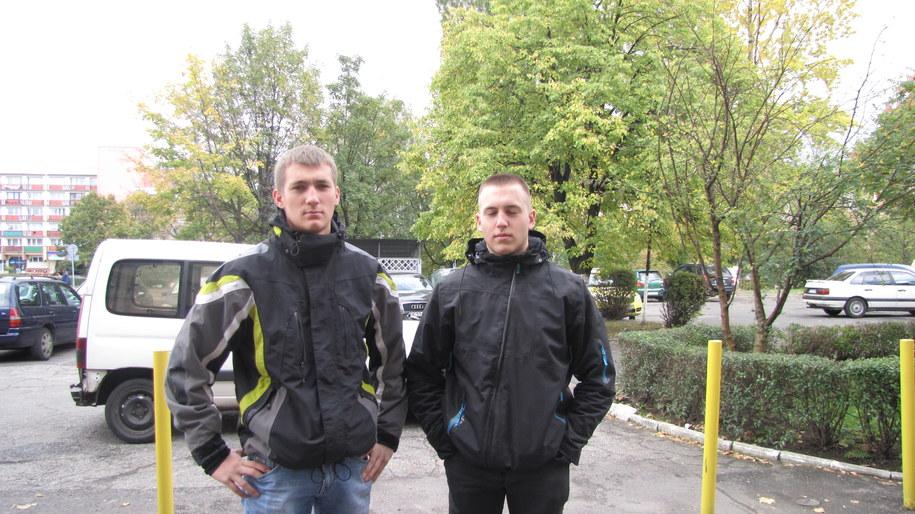 Dawid i Piotr /Anna Kropaczek /RMF FM