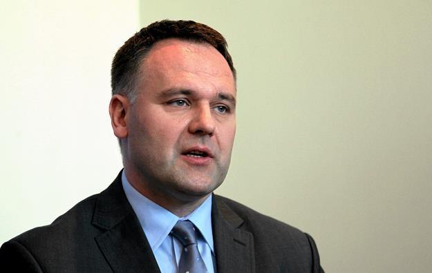Dawid Jackiewicz, minister skarbu. Fot . Mieczysław Michalak Agencja Gazeta /