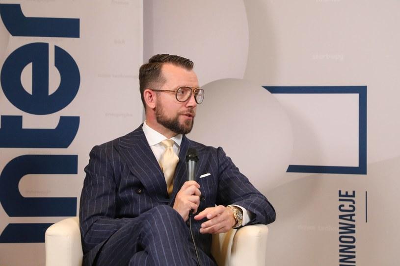 Dawid Jakubowicz, prezes Ciechu /Ireneusz Rek /INTERIA.PL
