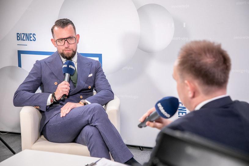 Dawid Jakubowicz, prezes Ciechu /Fot. Ireneusz Rek /INTERIA.PL