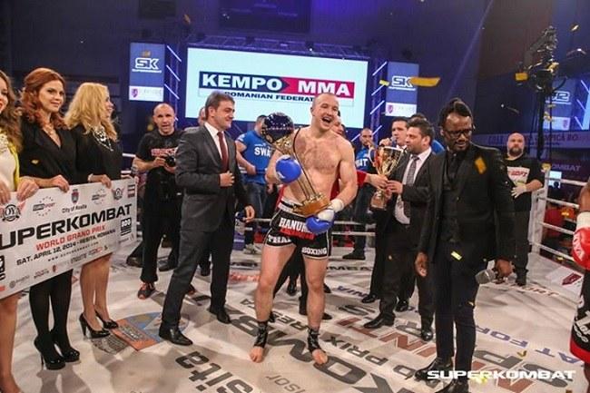 Dawid Kasperski, Fot Superkombat /Kickboxing24.pl