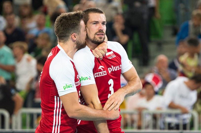 Dawid Konarski i Michał Kubiak w barwach reprezentacji Polski /AFP