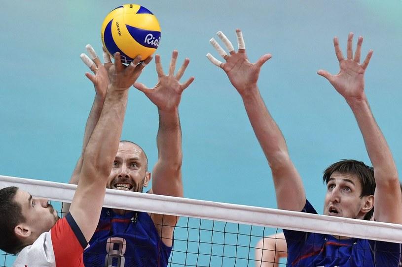 Dawid Konarski podczas meczu reprezentacji Polski /AFP