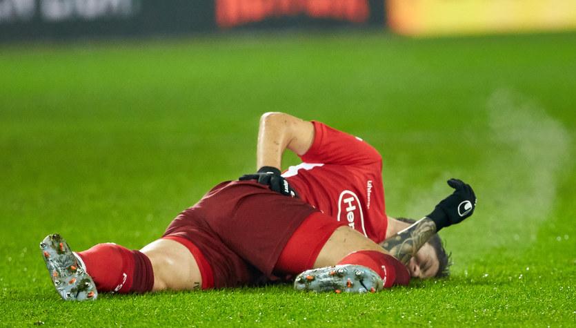 Dawid Kownacki zerwał więzadła krzyżowe w kolanie