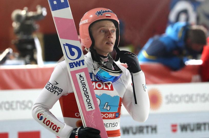 Dawid Kubacki był ważną postacią naszej kadry w konkursie drużyn mieszanych /PAP/Grzegorz Momot /PAP