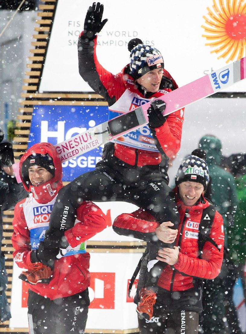 Dawid Kubacki mistrzem świata! /AFP