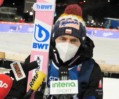Dawid Kubacki po konkursie indywidualnym w Zakopanem. Wideo