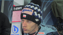 Dawid Kubacki po kwalifikacjach w Wiśle. Wideo