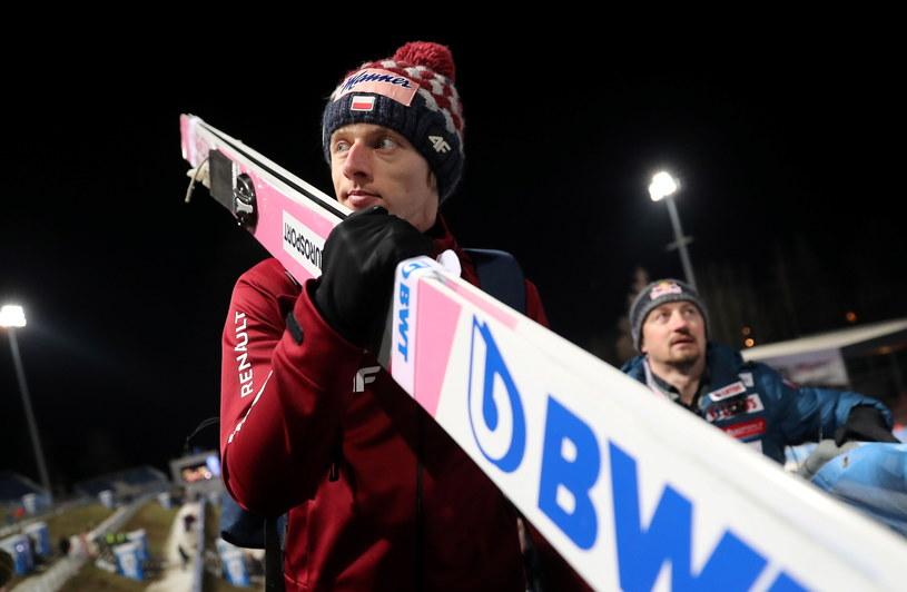 Dawid Kubacki w Bischofshofen / Grzegorz Momot    /PAP