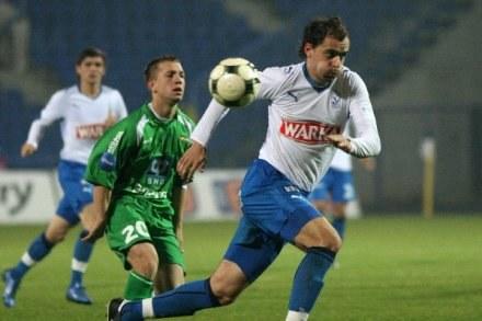Dawid Kucharski grał już w grupowej fazie Pucharu UEFA, fot. Maciej Opala /Agencja Przegląd Sportowy