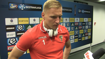 Dawid Kudła po meczu Legia - Zagłębie 2-1. Wideo