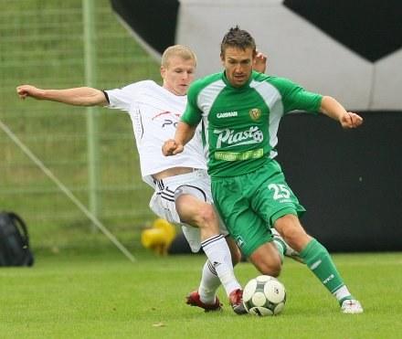 Dawid Nowak (z lewej)/Fot. Sebastian Borowski /Agencja Przegląd Sportowy
