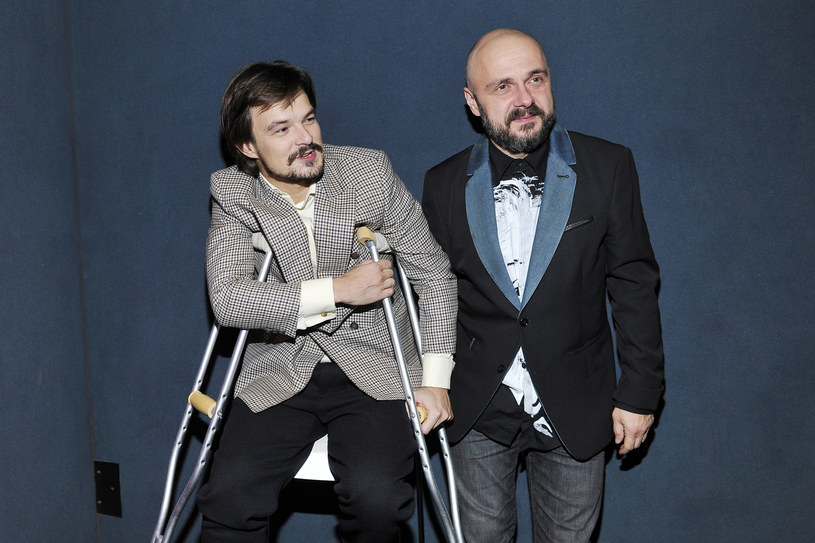 Dawid Ogrodnik i Arkadiusz Jakubik /Niemiec /AKPA