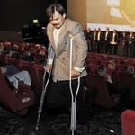 """Dawid Ogrodnik o kulach na premierze filmu """"Cicha noc"""""""