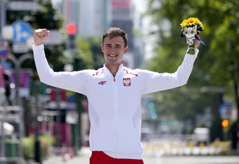 Dawid Tomala po wielkim sukcesie /AFP