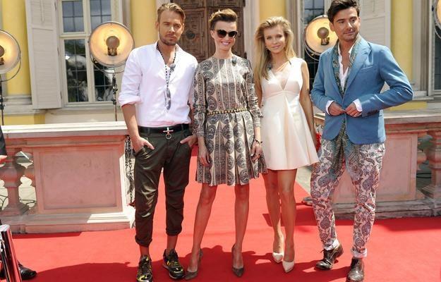 """Dawid Woliński, Katarzyna Sokołowska, Joanna Krupa, Marcin Tyszka - jurorzy """"Top Model"""" /AKPA"""