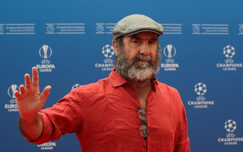 Dawna gwiazda futbolu - Eric Cantona /AFP
