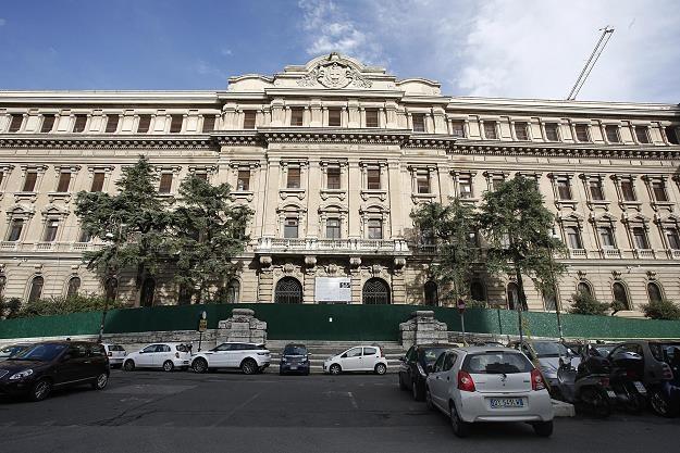 Dawna mennica państwowa w Rzymie przy Piazza Verdi /EPA