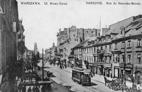 Dawna Warszawa na pocztówkach