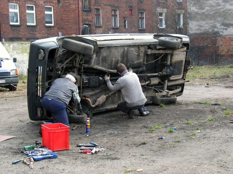 Dawniej naprawy były prostsze... /Adrian Ślazok /Reporter