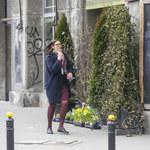 Dawno niewidziana Ilona Felicjańska na spacerze w centrum