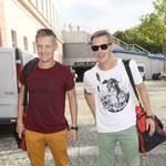 Dawno niewidziani Marcin i Rafał Mroczkowie na meczu charytatywnym