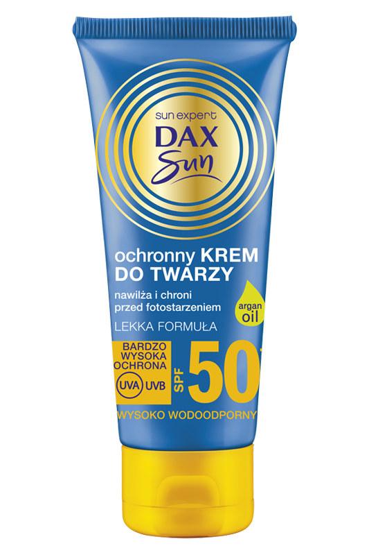 Dax Sun - krem ochronny do twarzy 50 /materiały prasowe