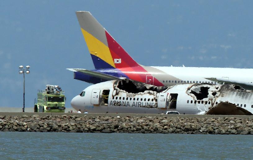Dbający o bezpieczeństwo w liniach Asiana Airlines zbagatelizowali wiele procedur bezpieczeństwa /AFP
