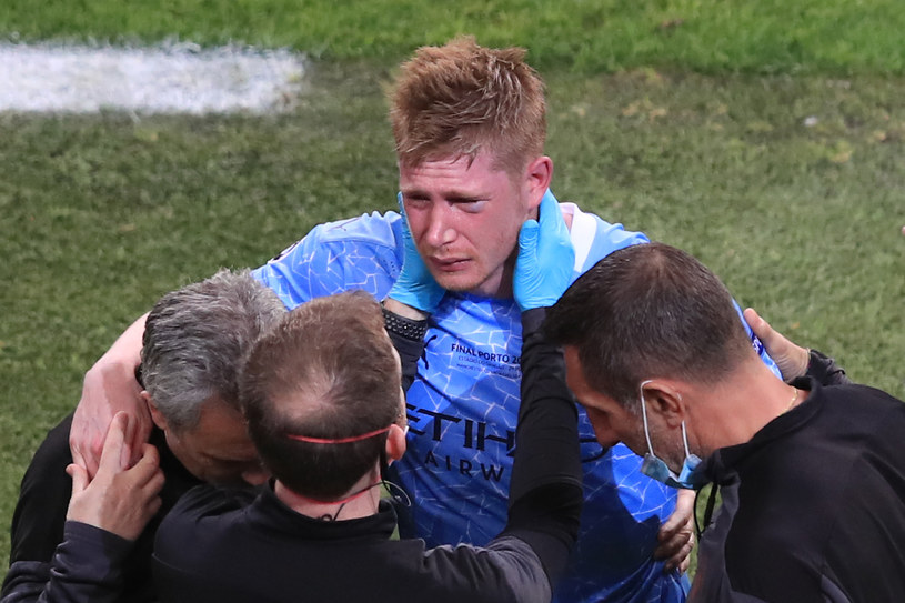 De Bruyne wrócił do treningów po bolesnej kontuzji z finału Ligi Mistrzów /Marc Atkins /Getty Images