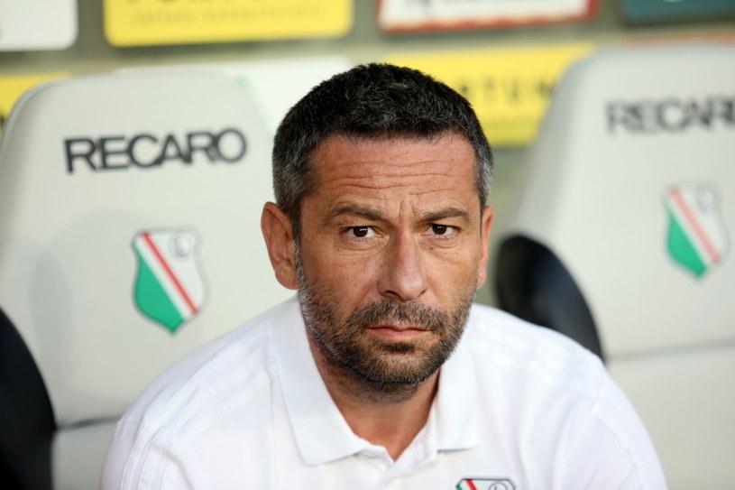 Dean Klafurić, trener Legii / Leszek Szymański    /PAP