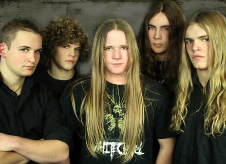 Deathmetalowa młodzież z Hackneyed /Oficjalna strona zespołu