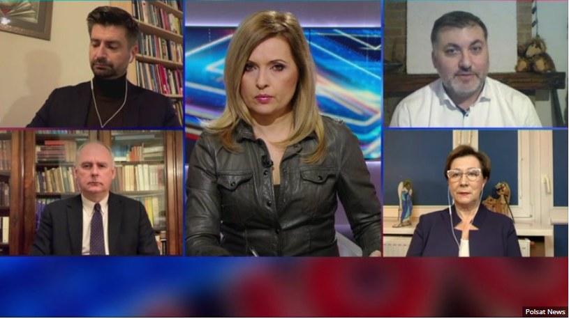 """Debata Dnia"" w Polsat News /Polsat News"