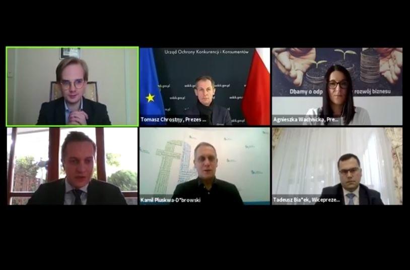 """Debata """"Finanse Polaków w czasie pandemii"""" /materiały prasowe"""