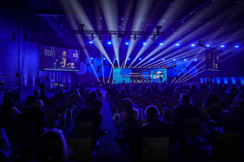 Debata inauguracyjna. Europejski Kongres Gospodarczy w Katowicach. /Fot. Ireneusz Rek /INTERIA.PL