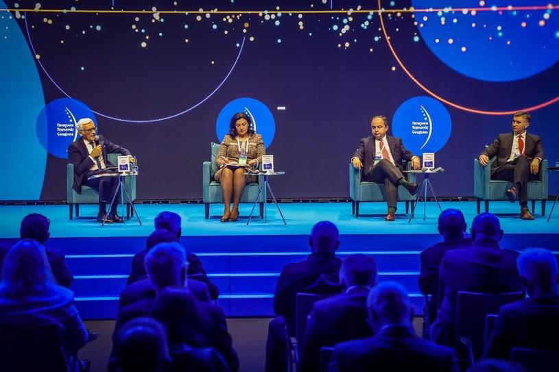 Debata inauguracyjna poświęcona popandemicznej odbudowie i wyzwaniom, przed jakimi stoi europejska gospodarka. EEC 2021 /Ireneusz Rek /IAR/INTERIA.PL