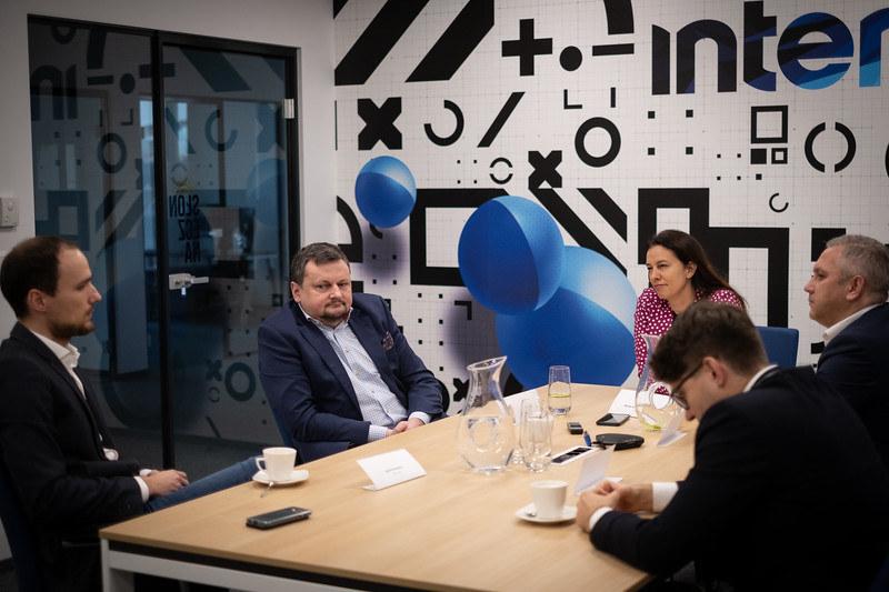"""Debata Interii w cyklu """"Bankowość Przyszłości"""" , fot. FW /INTERIA.PL"""
