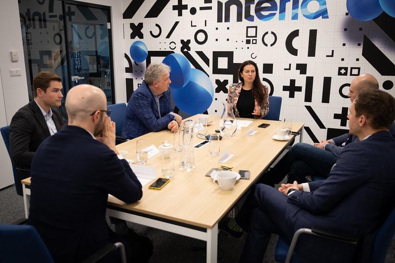 """Debata Interii z cyklu """"Bankowość Przyszłości"""", fot. FW /INTERIA.PL"""