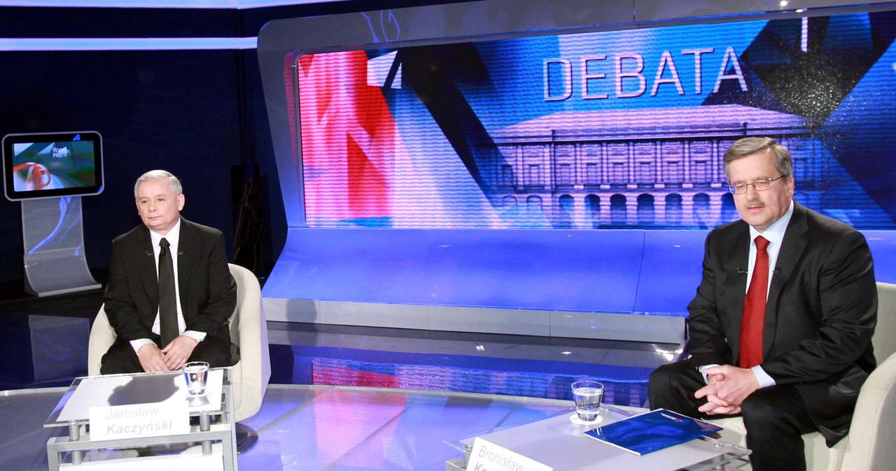 Debata nie ma przegranych; Kaczyński i Komorowski ogłosili swoje zwycięstwo
