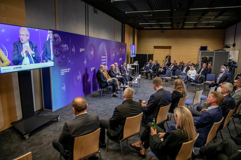 Debata podczas XIII Europejskiego Kongresu Gospodarczego. /Fot. Ireneusz Rek /INTERIA.PL