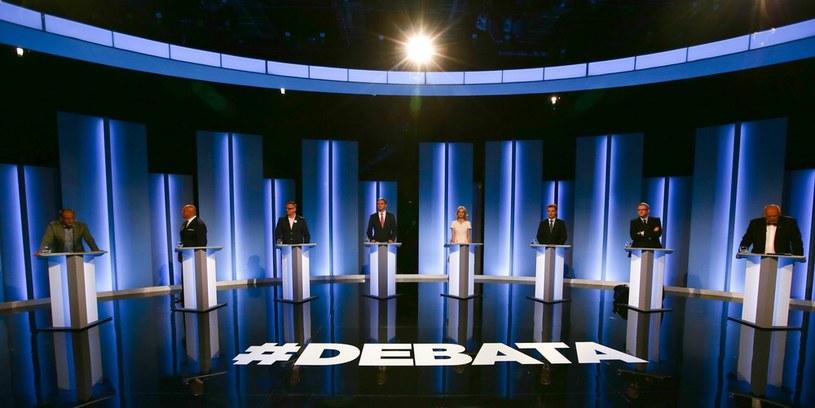 Debata prezydencka w TVP /Marcin Borkowski /East News