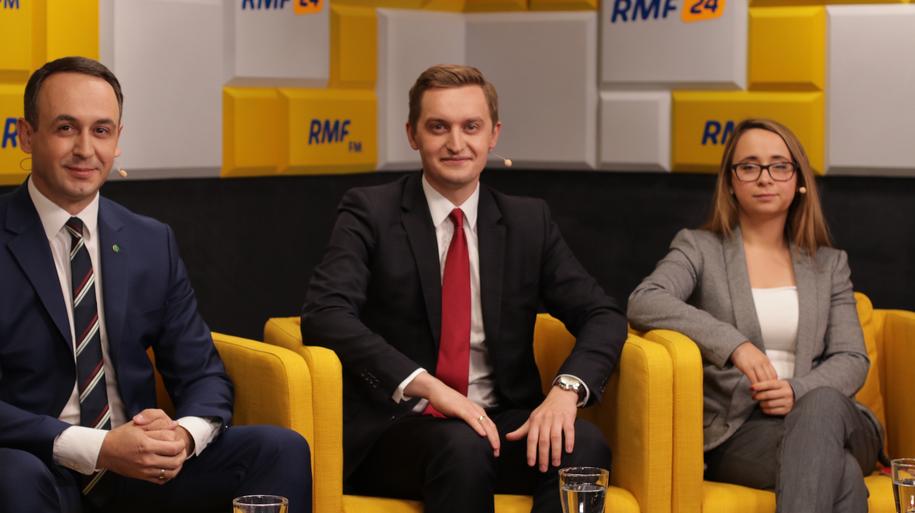 Debata przedwyborcza Po prostu Polska /Karolina Bereza /RMF FM