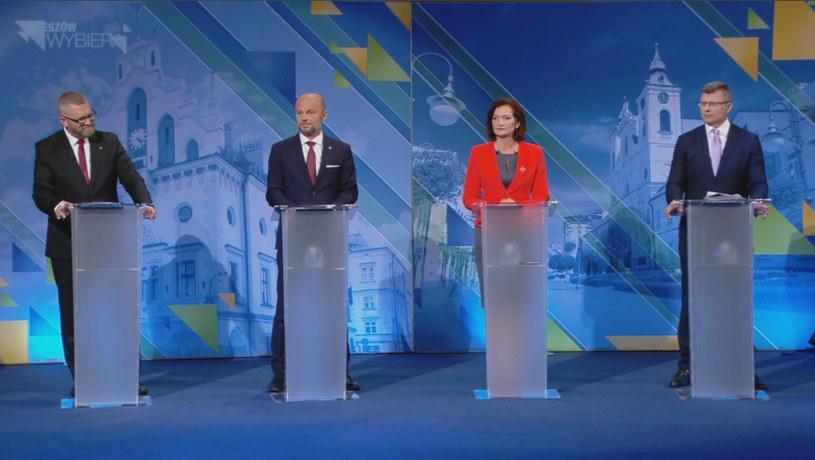 """Debata """"Rzeszów Wybiera"""" w Polsat News /Polsat News /"""