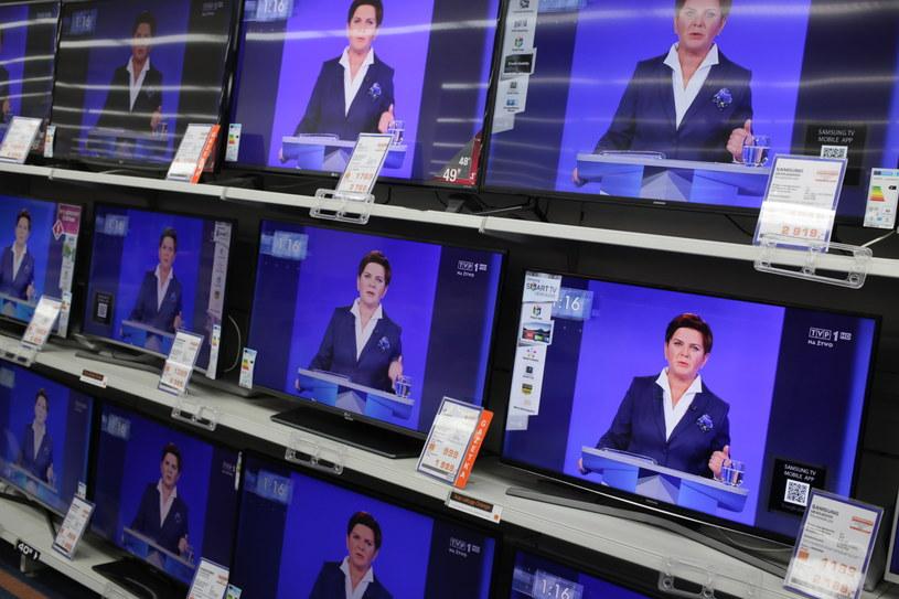 Debata telewizyjna Beata Szydło-Ewa Kopacz /Leszek Szymański /PAP