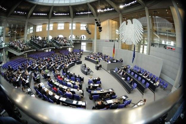 Debata w Bundestagu /AFP