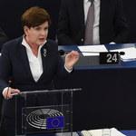 Debata w PE o Polsce. Szydło: Nie jesteśmy partią nacjonalistyczną. Pozwólcie nam rządzić