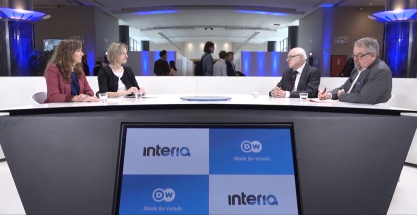 """Debata w programie """"Studio Europa"""" /INTERIA.PL"""